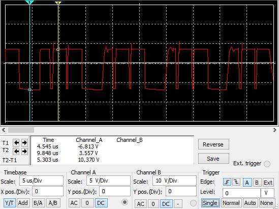 osciloscopio convertidor